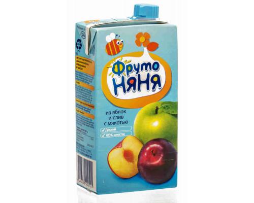 Нектар ФрутоНяня яблоко/слива 500мл т/п