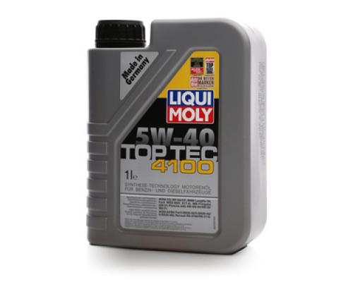 Масло моторное синтетическое 5W-40 TOP TEC 4100 ТМ Liqui Moly (Ликви Моли)