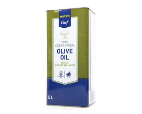 Оливковое масло ТМ Metro Chef (Мeтро Шеф), 100% Extra Virgin, 5 л