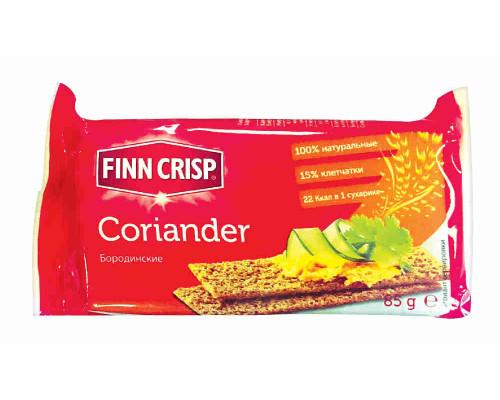 Сухарики Finn Crisp Бородинские с кориандром 85г