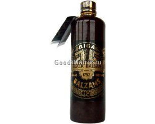 Бальзам ТМ Рижский Черный, 45%, 0,5 л