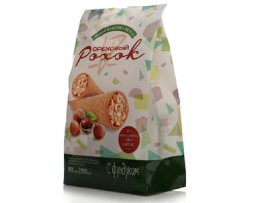 Рожок ореховый с фундуком ТМ Новая классика вкуса