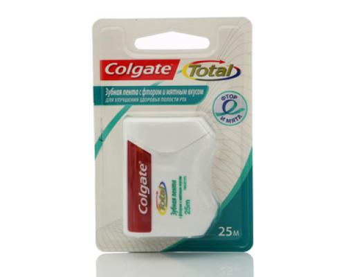 Зубная лента с фтором и мятным вкусом ТМ Colgate (Колгейт)