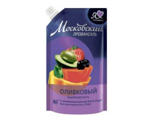 Майонез оливковый ТМ Московский провансаль, 67%, 220 мл