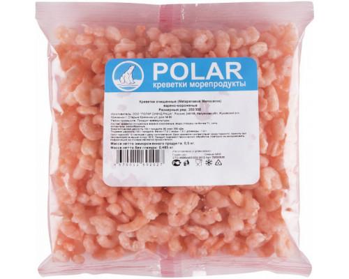 Креветки ТМ Polar (Полар) 200/300, очищенные, варено-мороженые, 500 г
