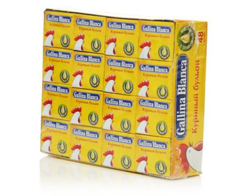 Куриный бульон 48 кубиков*10 г TM Gallina Blanca (Галлина Бланка)