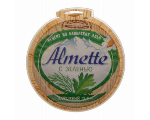 Сыр творожный Almette свежий с зеленью 150г
