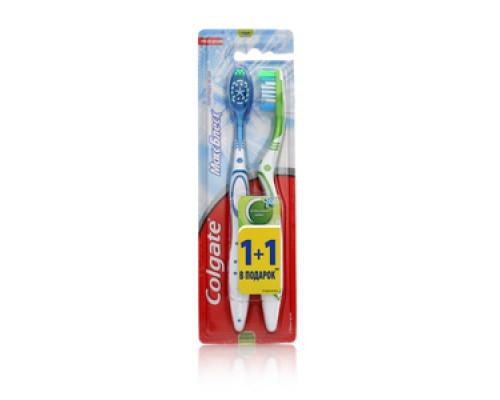Набор зубных щеток Макси Блеск 1 + 1 ТМ Colgate (Колгейт)