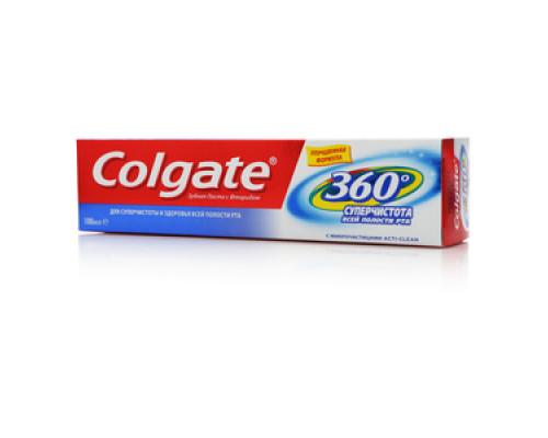 Зубная паста 360 Суперчистота всей полости рта ТМ Colgate (Колгейт)
