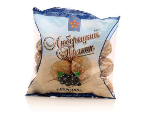 Пряник люберецкий с фруктовой начинкой Смородина ТМ Полет