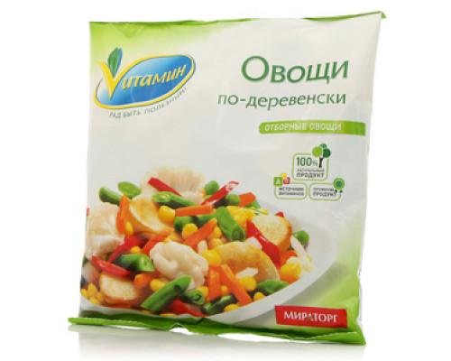 Овощи по-деревенски замороженные ТМ Vитамин (Витамин)
