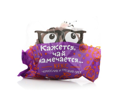 Кекс праздничный чернослив и грецкий орех ТМ Аладушкин