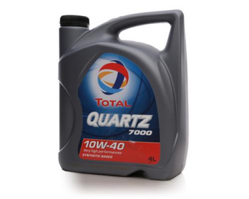 Масло моторное полусинтетическое Quartz (кварц) 7000 10W-40 ТМ Total (тотал)