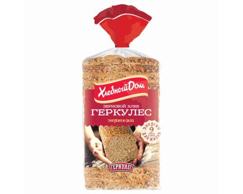 Хлеб Хлебный Дом Геркулес зерновой в нарезке 500г