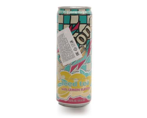 Напиток Iced tea лимонный ТМ Arizona