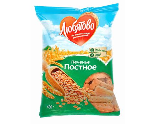 Печенье затяжное Любятово Постное 300г