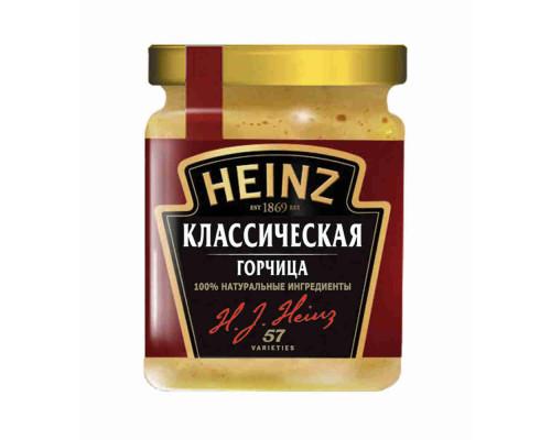 Горчица Heinz Классическая 185г ст/б
