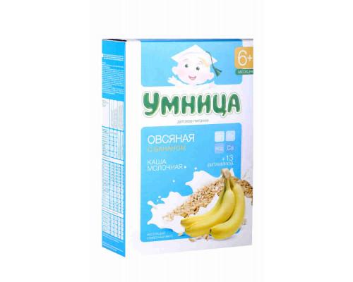 Каша мол. Умница Овсяная/Банан с 6мес, 200г