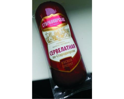Колбаса Сервелатная Стародворские Колбасы, 350 г