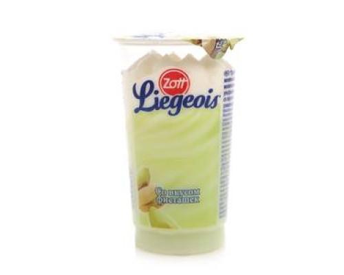 Десерт liegeois (лежуа) молочный со вкусом фисташек ТМ Zott (Цотт)