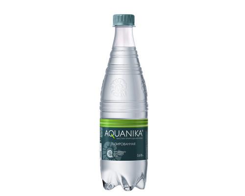 Вода минеральная ТМ Aquanika (Акваника), газированная, 618 мл