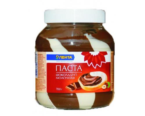 Паста ТМ Лента, шоколадно-молочная, 700 г