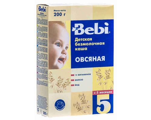 Каша овсяная без молока Bebi с 5мес 200г