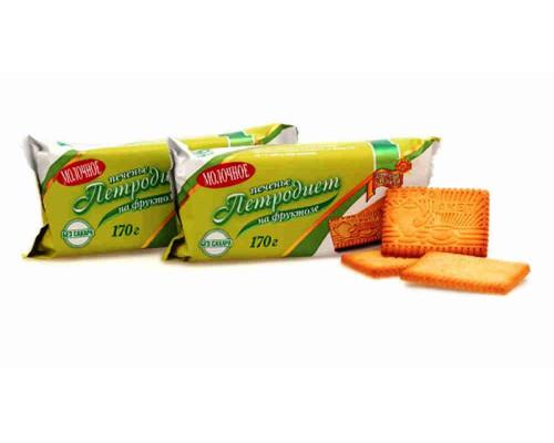 Печенье Петродиет молочное на фруктозе. 170г
