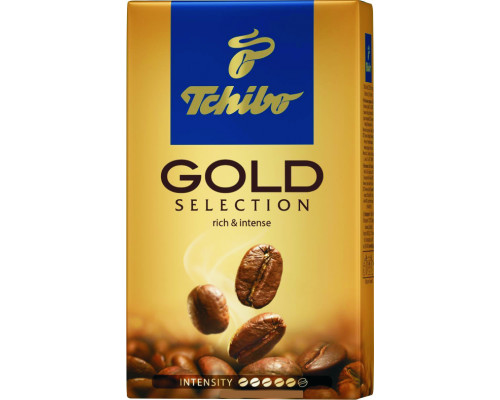Кофе ТМ Tchibo (Чибо) Gold Selection, молотый, 250 г