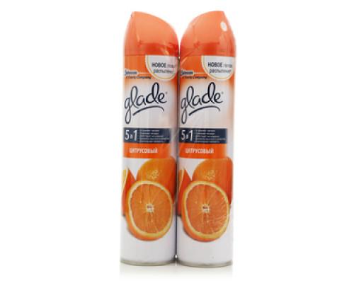 Освежитель воздуха Цитрусовый ТМ Glade (Глэйд), 2 шт