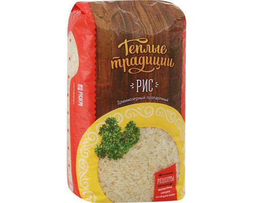 Рис ТМ Теплые традиции, пропаренный, 900 г
