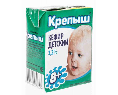Кефир ТМ Крепыш, 3,2%, 200 г