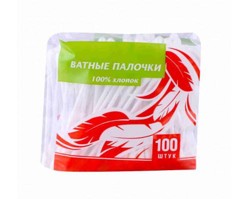 Ватные палочки ТЧН 100шт п/э