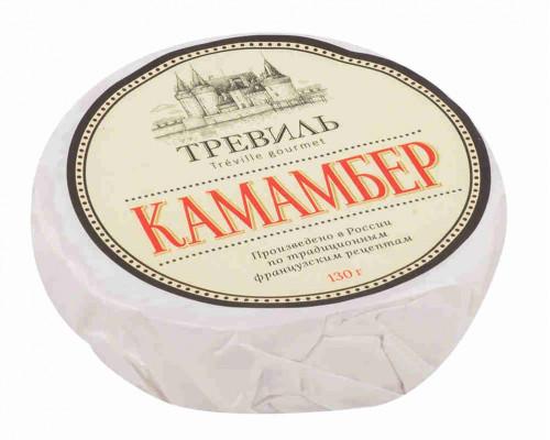 Сыр Тревиль Камамбер гурмэ 50% 130г