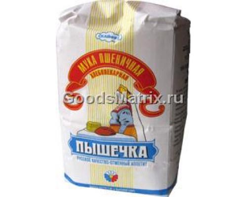Мука пшеничная ТМ Пышечка, хлебопекарная, в/с, 1 кг