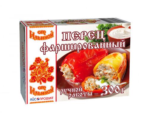 Перец ТМ От Ильиной, фаршированный с мясом и рисом, 300 г