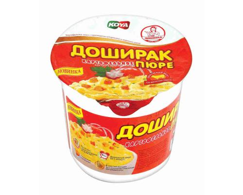 Пюре картофельное Доширак со вкусом мяса 40г т/ст