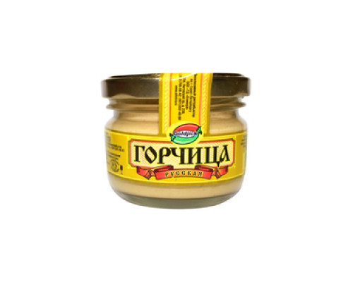 Горчица русская ТМ Goldjick (Голджик)
