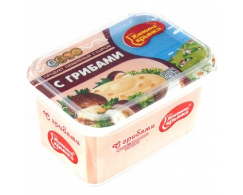 Продукт плавленый с сыром ТМ Жинкина Крынка, с грибами, 60%, 400 г