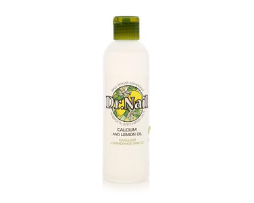 Жидкость для снятия лака кальций и лимонное масло ТМ Dr. Nail (Др. Нэил)