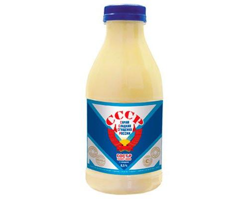 Сгущенное молоко ТМ СССР, с сахаром, 8,5%, 500 г