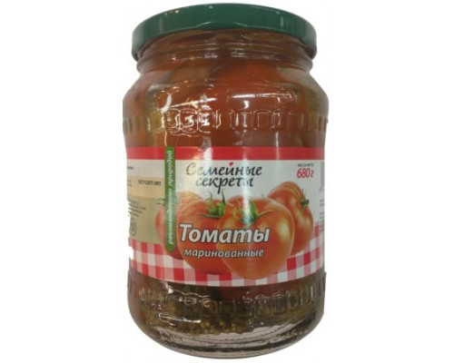 семейные секреты томаты марин 680г ст/ б (Агро инвест) :8
