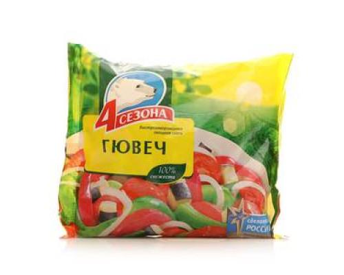 Гювеч овощная смесь ТМ 4 сезона