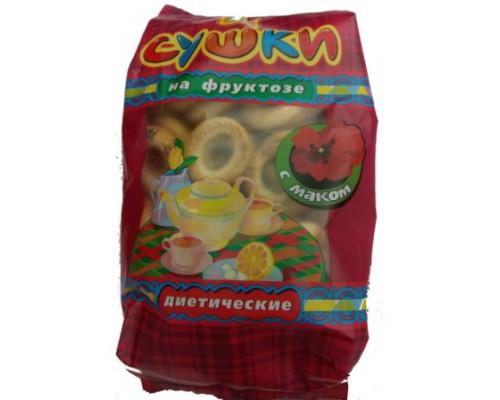 Сушки ТМ диа дар, сна фруктозе диетические, 300 г