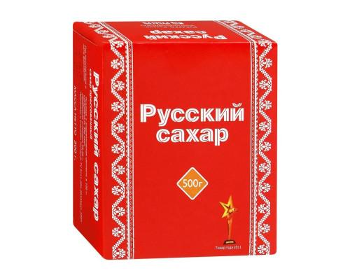 Сахар ТМ Русский сахар, прессованный, быстрорастворимый, 0,5 кг