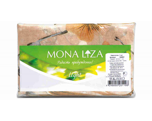 Наволочка Мона Лиза 70х70см 1шт бязь арт544007