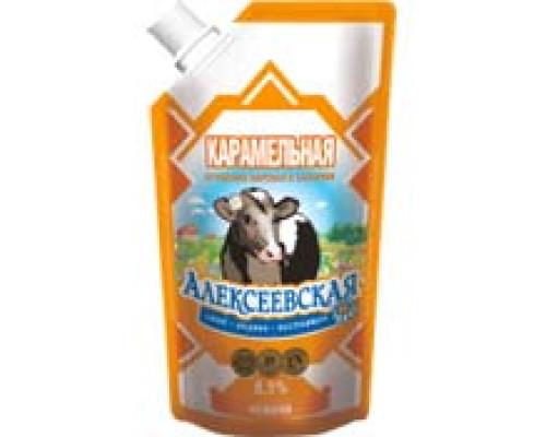 Молоко сгущенное АЛЕКСЕЕВСКАЯ Карамельная 270 г