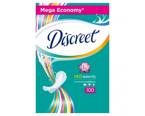 Ежедневные гигиенические прокладки ТМ Discreet (Дискрит) Multiform Deo Water Lily, 100 шт.