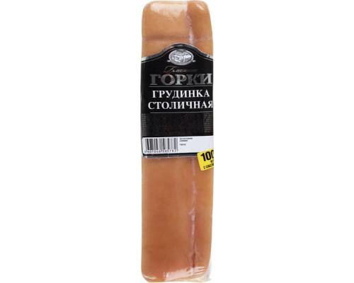 Грудинка Столичная ТМ Ближние горки, копчено-вареная, 350 г