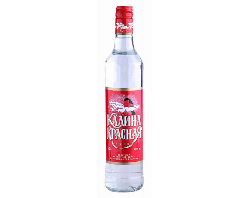 Водка Калина красная 40% 0.5